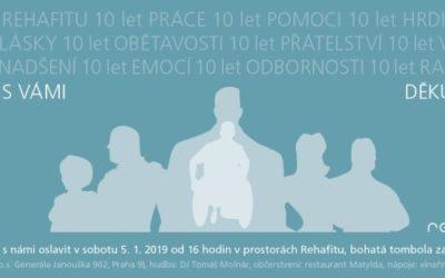 10 let REHAFITU